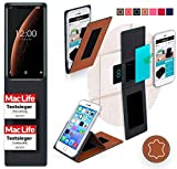 Cover for Oukitel C5 Pro Case | in Brown Leather |