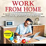 Work from Home: 50+ Proven Home-Based Business Ideas and Passive Income Opportunities - Earn $10,000/Month with Blogging, Affiliate Marketing, Dropshipping, Swing Trading and More!