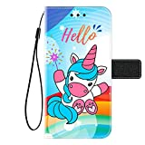 Kingyoe HTC Desire 650 Case Wallet Premium PU Leather Flip