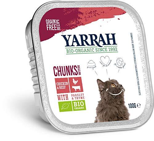 Yarrah Bio Bio Bröckchen Huhn und Rind mit Petersilie&Thymian (6 x 100 gr)