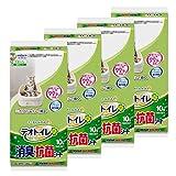 デオトイレ 消臭・抗菌シート 10枚×4個 (まとめ買い)