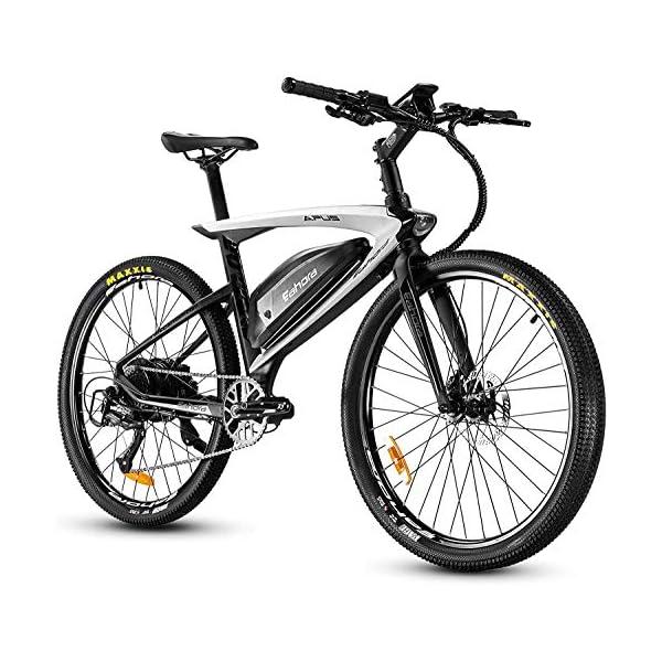 eAhora APUS 26in Carbon Fiber Electric Mountain Bike