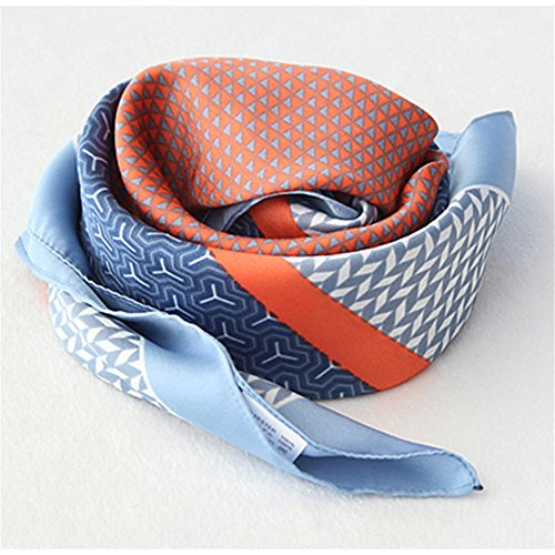 YRXDD Scarf Fashion High-End Simple tempérament Sauvage carré,50 * 50cm