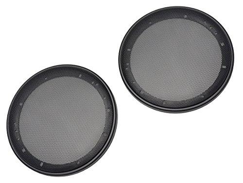 Sound Way Griglie Mascherine di Protezione per Altoparlanti Casse Autoradio 20 cm