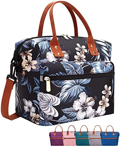Leakproof Insulated Lunch Tote Bag with Adjustable Removable Shoulder Strap Durable Reusable product image