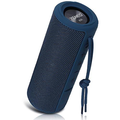 Xeneo X21 Portable Wireless Speaker Waterproof with TWS, FM Radio, Micro SD...