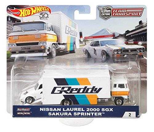 Hot Wheels Sakura Sprinter und Nissan Laurel 2000 Metall weiß