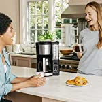 Ninja 12-Cup Programmable Coffee Maker with Classic and Rich Brews, 60 oz. Water Reservoir, and Thermal Flavor… 20 Hotter brewing technology: Advanced boiler for a perfectly hot cup of coffee Wake upto hot coffee 24 hour programmable delay brew allows you to prepare your brew upto a day in advance Keep coffee fresh and flavorful upto 4 hours with the adjustable warming plate
