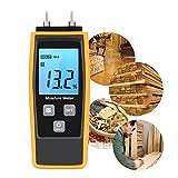Bois l'humidité Mètre, eau W-unique, l'humidité testeur numérique HD, écran LCD avec...