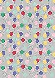 Luftballons, LEW61 grau-April Showers von Lewis &Irene -