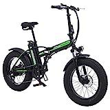 Bicicleta eléctrica ruedas anchas Shengmilo MX20 plegable 500W 40 km/h