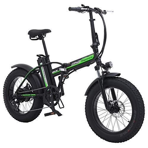 Shengmilo Bicicleta eléctrica 20 Pulgadas Bicicleta