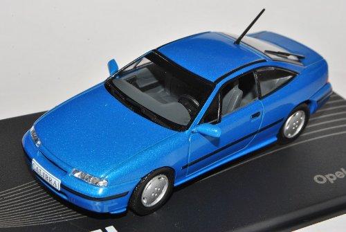 Opel Calibra Coupe V6 Blau 1993-1997 Nr 16 1/43 Modellcarsonline Modell Auto mit individiuellem Wunschkennzeichen