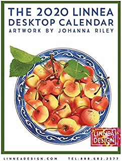 Linnea Design 2020 Desktop Calendar 5 X 7 Inches Art by Johanna Riley
