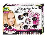 Lena-Super Mani Pedi Nail, 4 en 1 Estudio, Juego Completo para embellecer, salón de uñas para niñas a Partir de 8 años, Color Cuidado (SiMM Spielwaren GmbH 9725659)