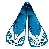 SEAC Vela Aletas Cortas para Nadar y Snorkeling, Adultos Unisex, Azul Claro, 44/45