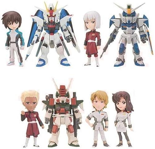 Gundam series World Collectible figures vol.4 prize Banpresto (with all eight Furukonpu set + bonus)