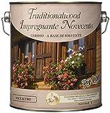 Cera Novecento 9090 Traditionalwood Impregnante, Noce Scuro, 2.5 litri