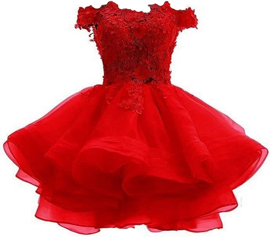 FWVR 格安 Women's Short Prom Party Shoulder 卸売り Off Homecoming Dress Dres