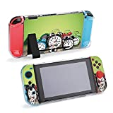 SUPNON Carry Case Compatible with Nintendo Switch, Ultra Slim Hard Shell, Protective Carrying Case for Travel - Alarm Clocks Design1850