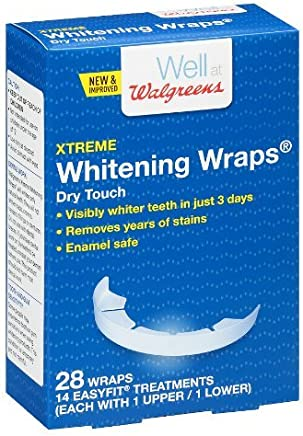 a084051c6c05 Walgreens Whitening Wraps 14 Treatments 28.0 ea