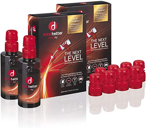 drinkbetter enerxxy starter set with drinking bottle Drink better is the power drink with valuable ingredients.