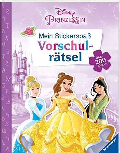 Mein Stickerspaß Disney Prinzessin: Vorschulrätsel: Über 200 Sticker