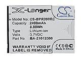 Replacement Battery Part No.BA-21012300 for BandRich BandLuxe PR39, Portable Hotspot Battery