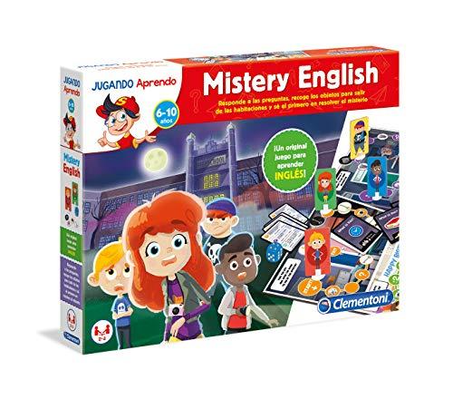 Clementoni - Mistery English Juego Educativo, Multicolor (55227)