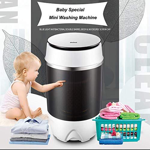 Y&J Haushalt Mini-Waschmaschine, Wasch & Trockner Kombination, Single Barrel Tragbare Waschmaschinen, Kind/Unterwäsche Halbautomatische Waschmaschine, EIN-Knopf-Bedienung