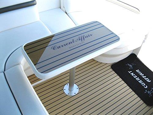 Custom APF Marine Flexiteek Table w Boat Name
