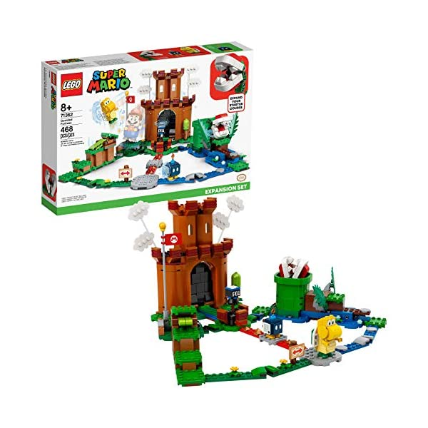 LEGO Super Mario Guarded Fortress Expansion Set 71362 Building Kit; Collectible Playset...