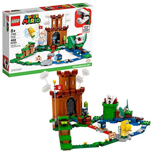 LEGO Super Mario Guarded Fortress Expansion Set 71362 Building Kit; Collectible Playset to Combine with The Super Mario Adventures with Mario Starter Course (71360) Set, New 2020 (468 Pieces)