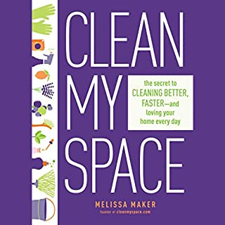 Clean My Space audiobook cover art