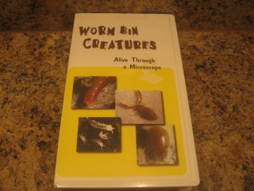 Worm Bin Creatures Alive Through a Microscope [VHS]