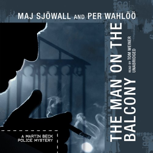 The Man on the Balcony audiobook cover art