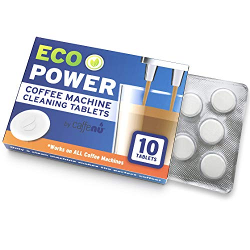 Espresso Machine BIO Cleaning Tablets for Breville and all other brands. 2 Gram Espresso Cleaning Tablets - Non-Toxic Biodegradable. 10 Count Box