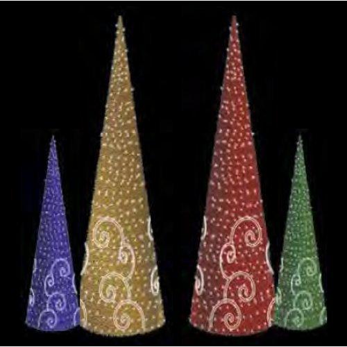 prilux–Spiral Cone Green 250cm