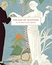 The Age of Glamour: An Art Deco Coloring Book