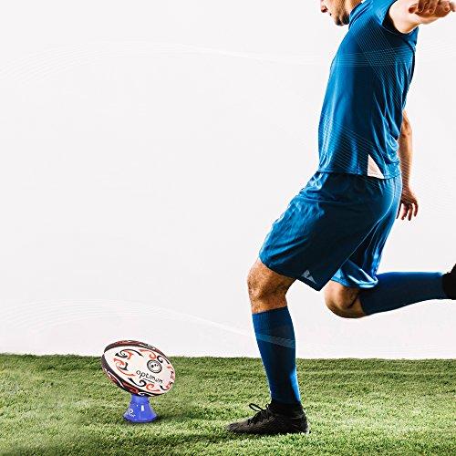 Optimum Adjustable Kicking Tee, Blue, One Size