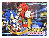 Great Eastern GE-57718 Sonic The Hedgehog Sonic and Knuckles Throw Blanket 46'x60'