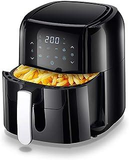 PLEASUR Friteuse à air XXL, friteuses à air 1700 W pour rôtissage, appareils de Cuisson de Haute Technologie et cuisinière...