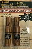 Faulk's Mini Professional Duck and Goose Call Set BROWN