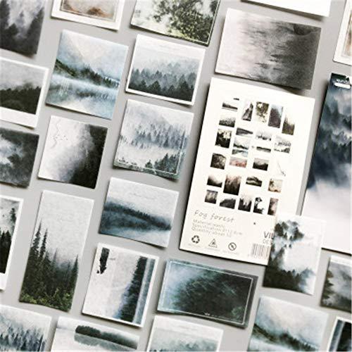 50pcs Notizbuch Aufkleber Fotoalbum Sticker DIY Handbuch Tagebuch Dekoration Sticker Kinder Geschenk (F)