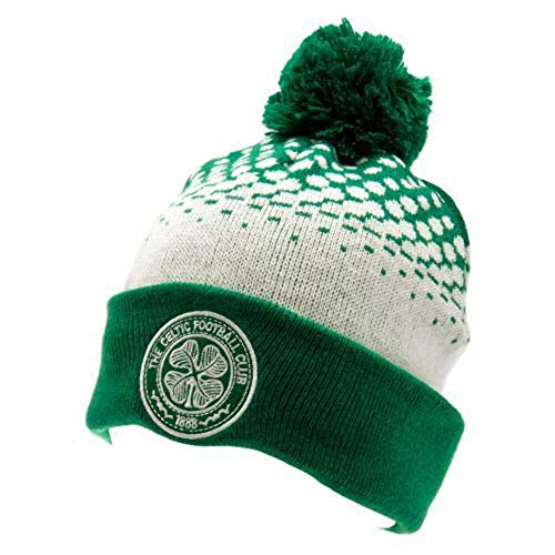Thisltic Fc Fade Knitted Bobble Hat