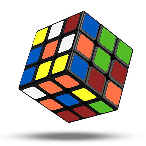 Jooheli Zauberwürfel, 3x3 Speed Cube Magic Cube 3x3x3 Magischer würfel fit Speed Cubing für Kinder Erwachsene Anfänger Lebendigen Farben