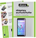 dipos I 2X Schutzfolie matt kompatibel mit Wiko Jerry 3 Folie Bildschirmschutzfolie