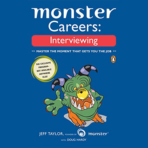 Monster Careers audiobook cover art