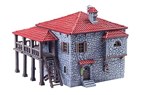 Painted Port Tavern Terrain