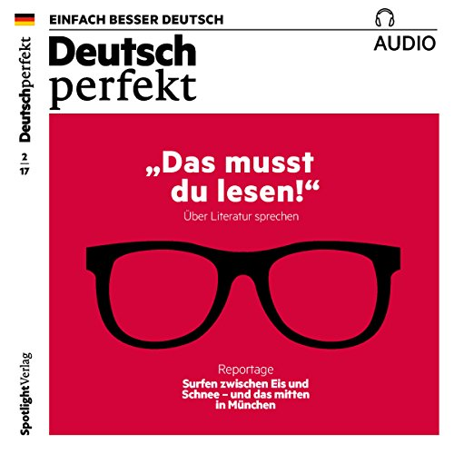 Deutsch perfekt Audio. 2/2017 audiobook cover art